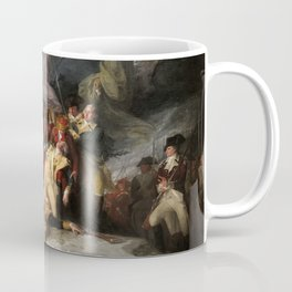 The Death of General Montgomery in the Attack on Quebec, December 31, 1775 Coffee Mug