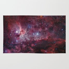 Carina Nebula of the Milky Way Galaxy Rug
