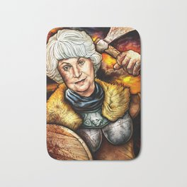"""Picture it: Sicily 1061"" Golden Girls- Bea Arthur Bath Mat"