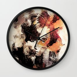 Bandwagon Abstract Portrait Wall Clock
