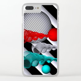 opart -71- Clear iPhone Case