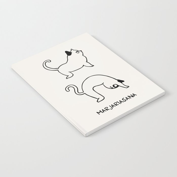 Cat Pose Notebook