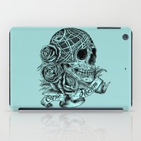 carpe iPad Cases featuring Carpe Noctem (Seize the Night) by Rachel Caldwell