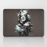 marilyn iPad Cases featuring Marilyn. by Emiliano Morciano (Ateyo)