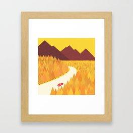 Yellow Nature Framed Art Print