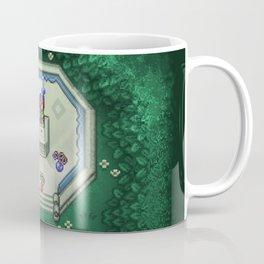 Zelda Mastesword Pixels Coffee Mug