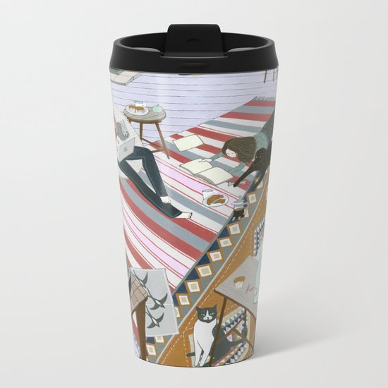 Sisters Room Metal Travel Mug