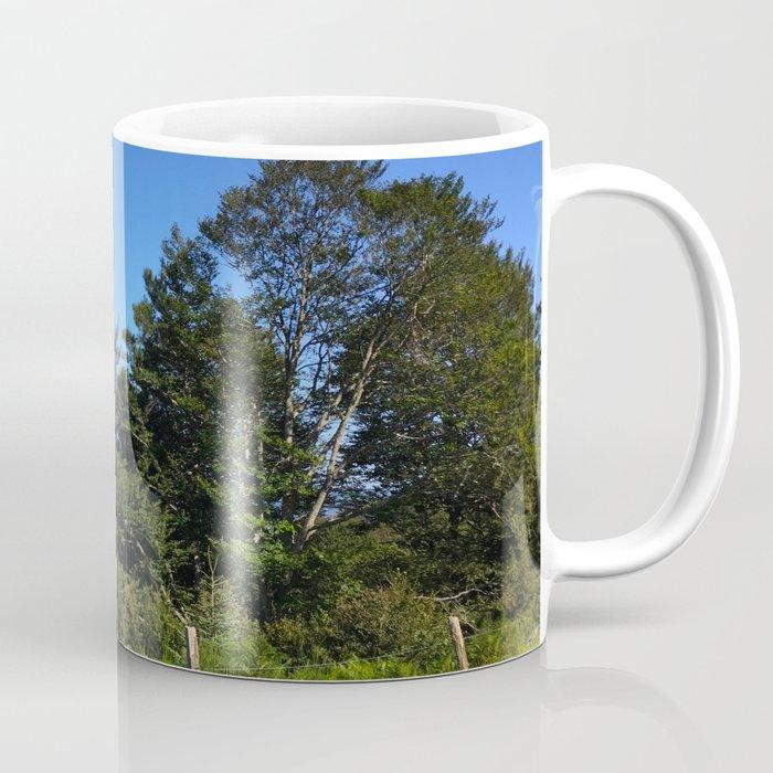 Pyrenean trees Coffee Mug