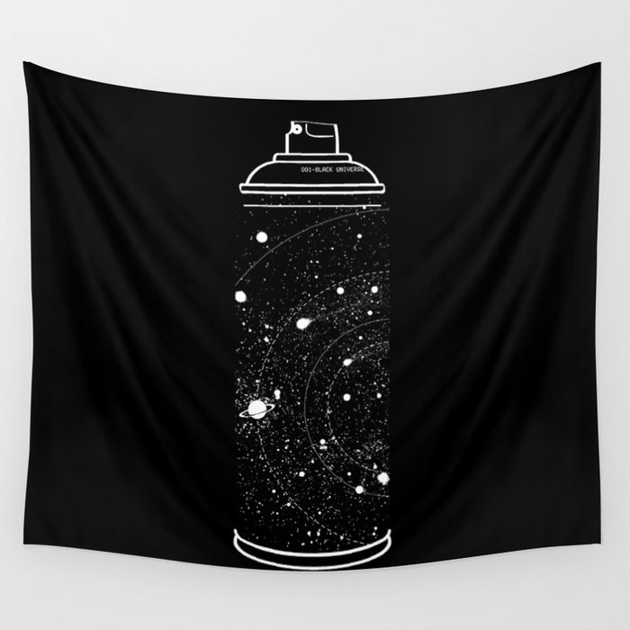 Space Can Wall Tapestry