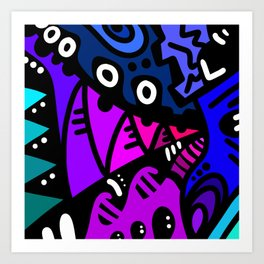 Xenophile Art Print