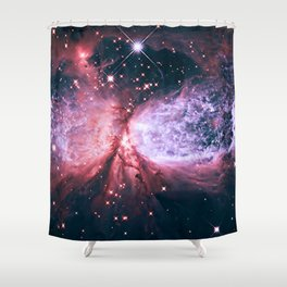 Space Galaxy Shower Curtain