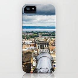View from Edinburgh Castle, Scotland iPhone Case