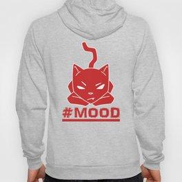#MOOD Cat Red Hoody
