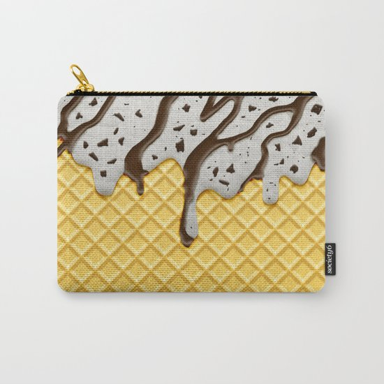 Cookie Ice Cream Carry-All Pouch