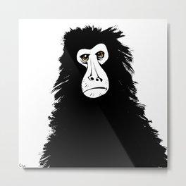 Happy Ape Metal Print