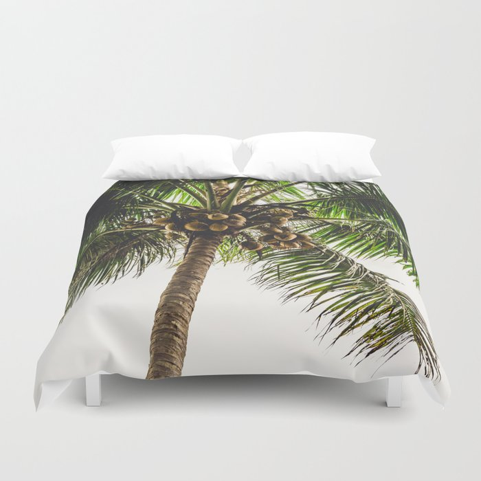 Coconut Bounty Duvet Cover