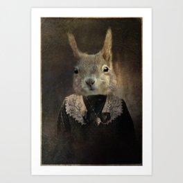Miss Dashwood Art Print