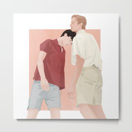 Call me by your name | CMBYN Metal Print