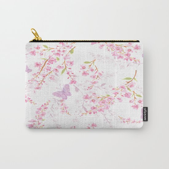 cherry blossom shadow Carry-All Pouch