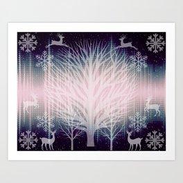 Winter Celestials  Art Print