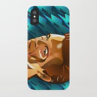 david bowie iPhone & iPod Cases featuring Bowie  by Beth Gatza