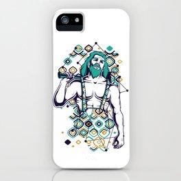 Hephaestus Greek God iPhone Case