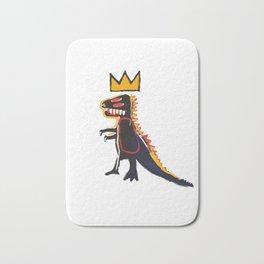 Basquiat Dinosaur Bath Mat