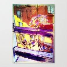 Lyon - oct 2014 Canvas Print