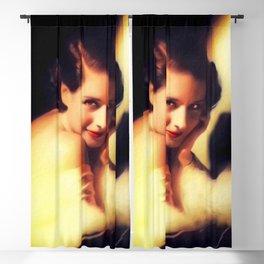 Norma Shearer, Vintage Actress Blackout Curtain