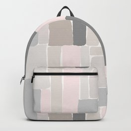 Soft Pastels Composition 2 Backpack