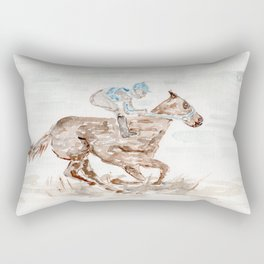 Race Horse, Derby, Kentucky, Rectangular Pillow