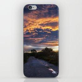 Camino al Chimal iPhone Skin