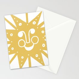 Cheerful Happy Sunshine Numero 5 Stationery Cards