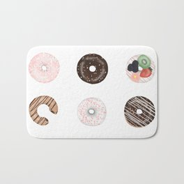 The Zero-Calorie Donuts Bath Mat