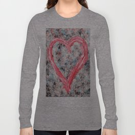Heart in Chaos Long Sleeve T-shirt