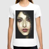 black widow T-shirts featuring Black Widow by PiccolaRia