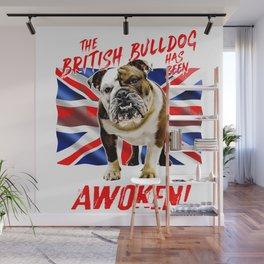 The British Bulldog Has Been Awoken Wall Mural