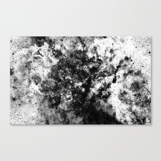 Everything is nothing 21 (therefore it was beautiful) Canvas Print