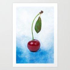 Red cherry berry: The Graduate Art Print