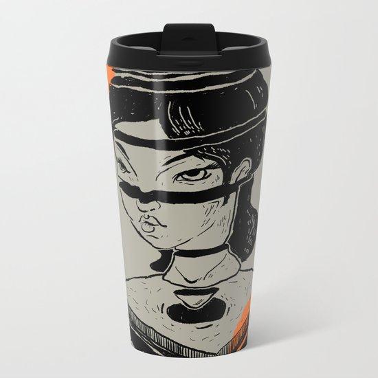 queen Metal Travel Mug