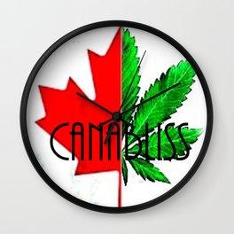 CannaBliss Wall Clock