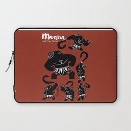 Moana, Animated Movie Poster, Oceania, Vaiana, minimal, alternative, film, playbill, 3D cartoon Laptop Sleeve
