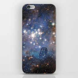 Adventures in Time and Space iPhone Skin