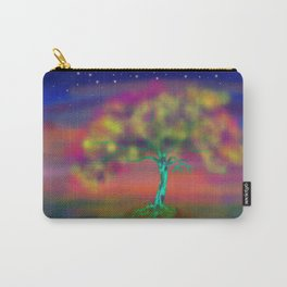 A LUMINESCENT TREE Carry-All Pouch