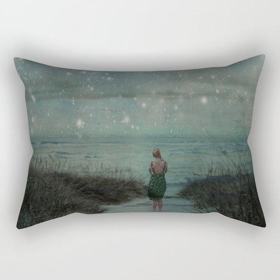 Stars in the Night Sky Rectangular Pillow