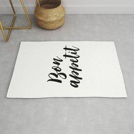 Bon appetit sign, Dining room decor, Typographic Print, Kitchen art, Bon Appetite, Wall Art, Home De Rug