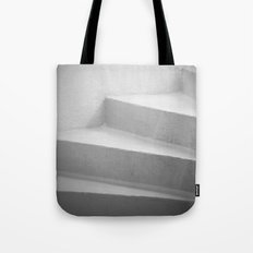 White Stairs Tote Bag