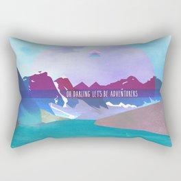 Adventurers Rectangular Pillow