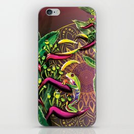 Red Eyed Tree Frog iPhone Skin