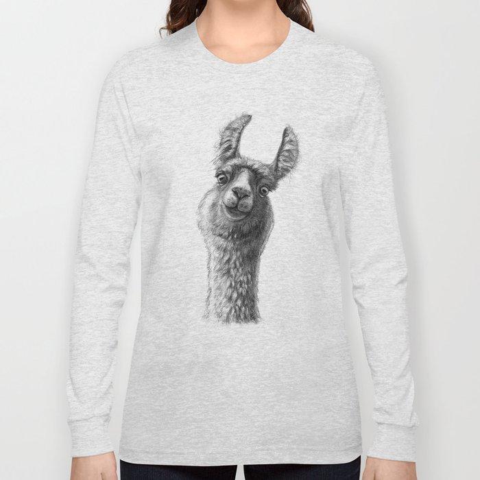 Cute Llama G135 Long Sleeve T-shirt